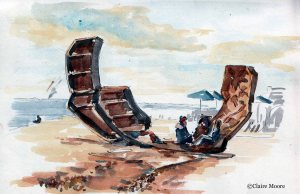 Passacaglia, Brighton beach by Charles Hadock