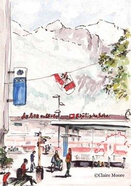 Chur station, Switzerland