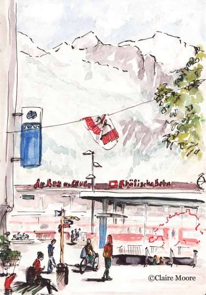 Chur station, Switzerland