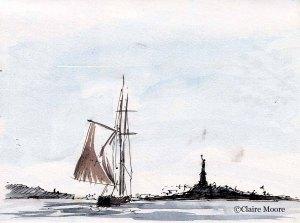 NYC clipper ship