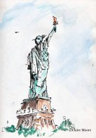 The behind of Liberty