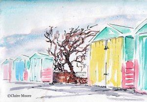 2015-01-19 Beach huts