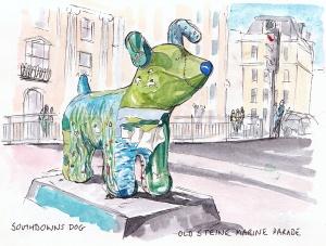 Snowdowns dog, Old Steine Marine Parade