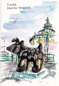 Flower, Brighton Bandstand
