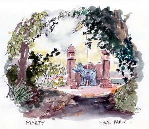 Marty, Hove Park